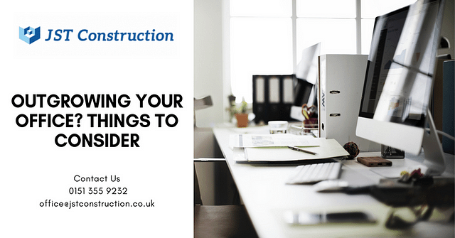 Outgrowing your office? Things to consider before you move out